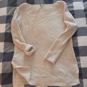 Gap Waffle Knit Tunic Sweater